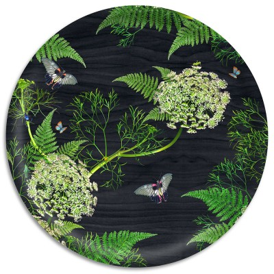Ary Trays Michael Angove 38 cm Black Dill Tray