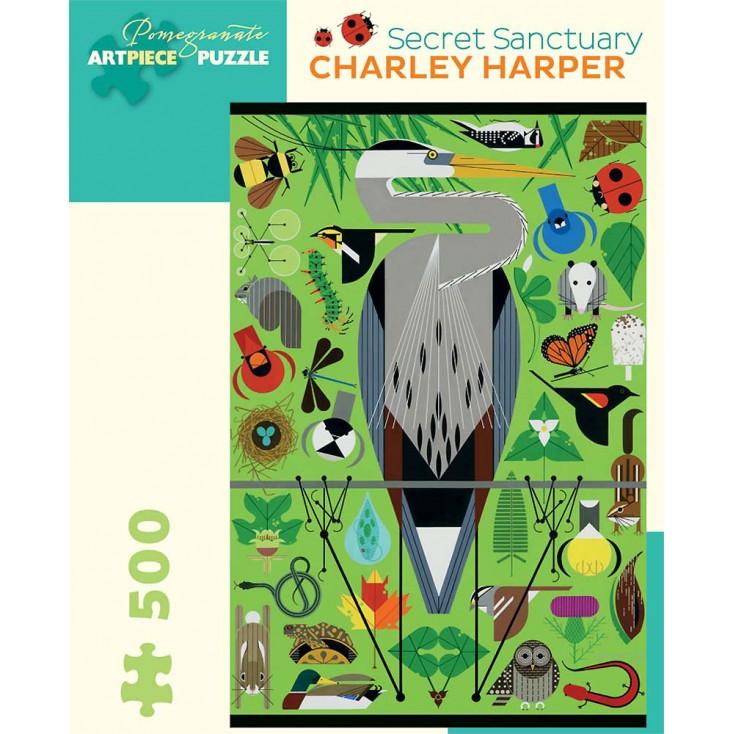 Charley Harper Secret Sanctuary Jigsaw
