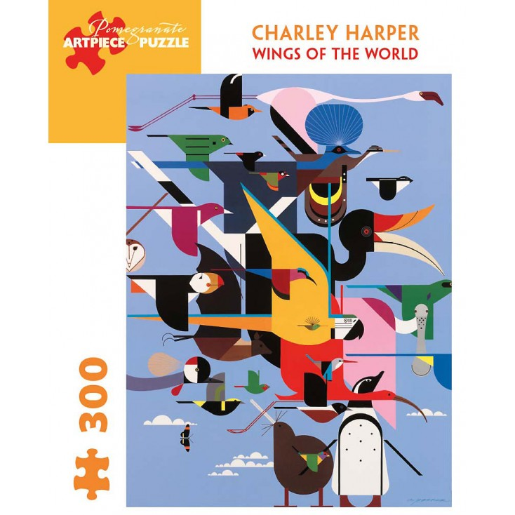 Charley Harper Wings Of The World Jigsaw