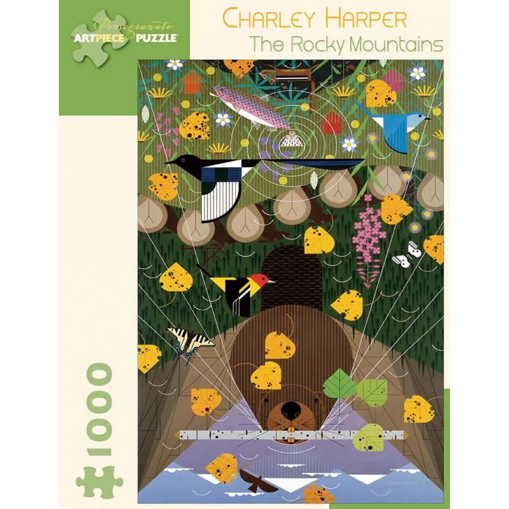 Charley Harper Rocky Mountains Jigsaw