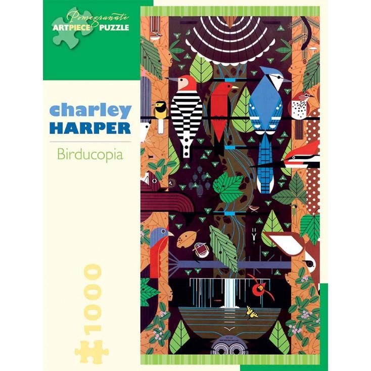 Charley Harper Birducopia Jigsaw