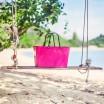 Hinza Large Hot Pink Bag