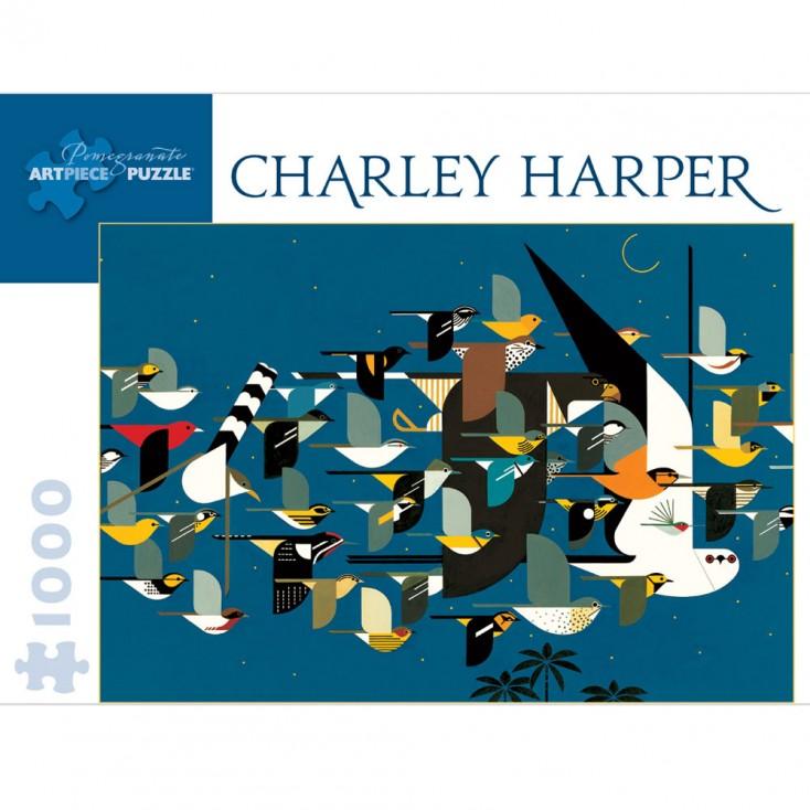 Charley Harper Missing Migrants Jigsaw