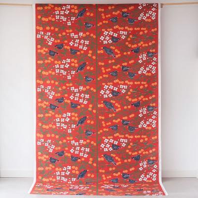 Almedahls Körsbärsträdgården Red Fabric