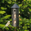 Black Swedish Combi Bird Feeder