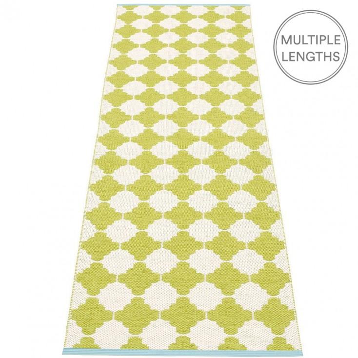 Pappelina Marre Lime & Vanilla Runner - 70 x 225 cm