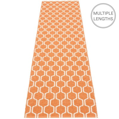 Pappelina Ants Pale Orange & Vanilla Runner - 70 x 270 cm