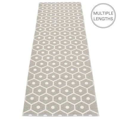 Pappelina Honey Warm Grey & Vanilla Runner - 70 x 225 cm