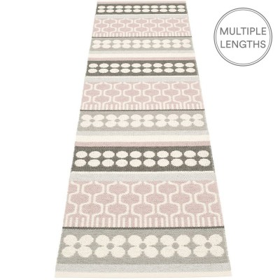 Pappelina Asta Pale Rose Runner - 70 x 270 cm