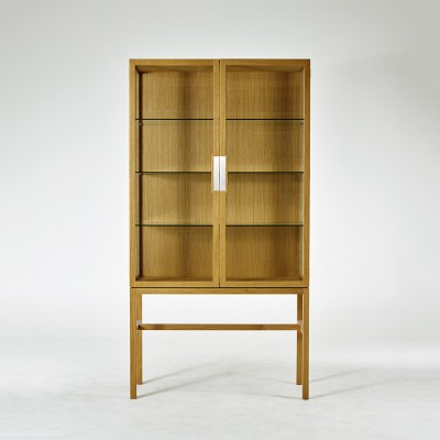 Gad Ovide Oak Cabinet