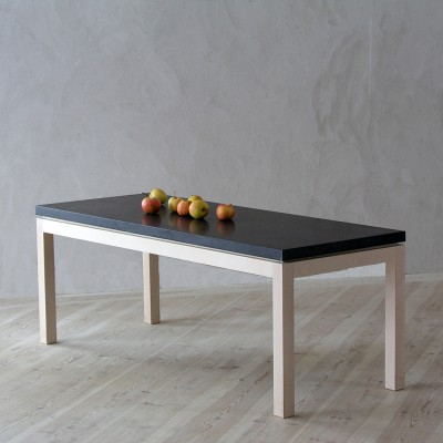 Gad Lye Coffee Table - Birch - Granite Top