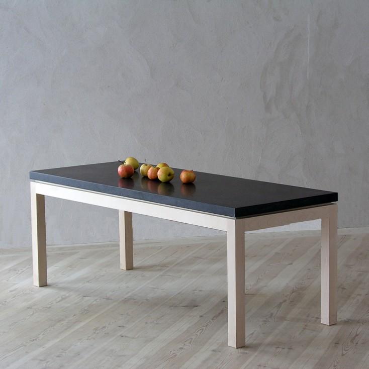 Gad Lye Coffee Table - Birch - Granite Top