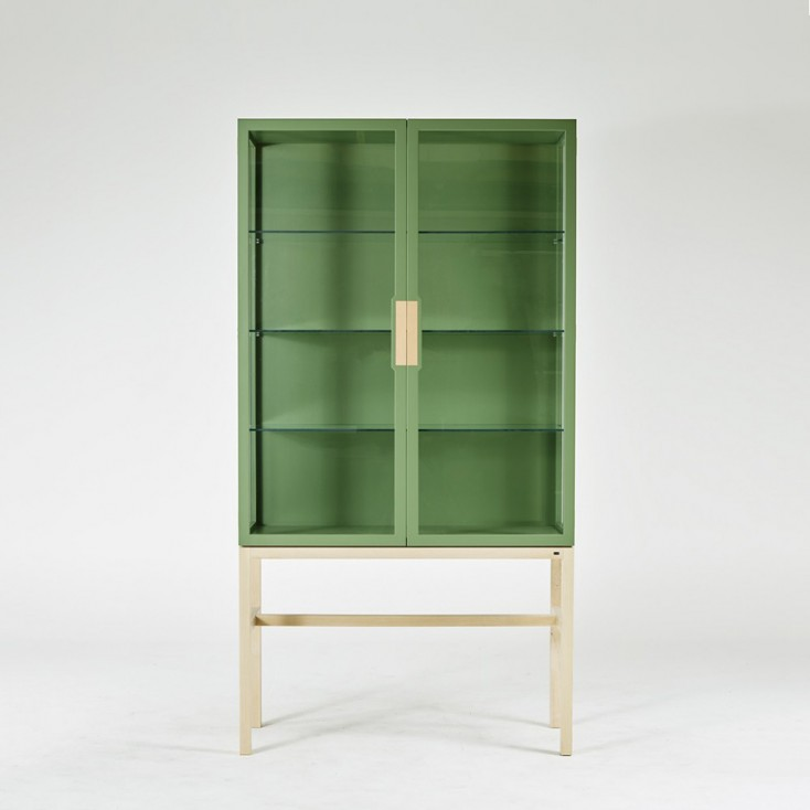 Gad Ovide Painted Cabinet