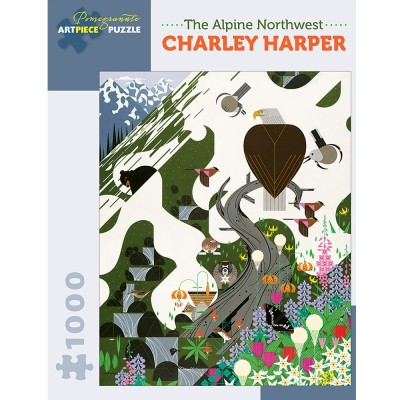 Charley Harper The Alpine Northwest  Jigsaw
