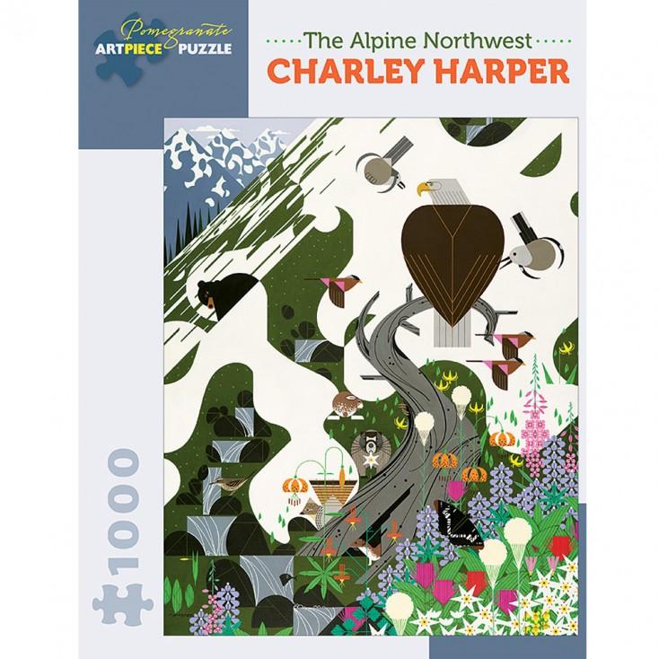 Charley Harper The Alpine Northwest Jigsaw