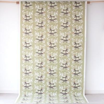 Almedahls Duet Green Swedish Fabric