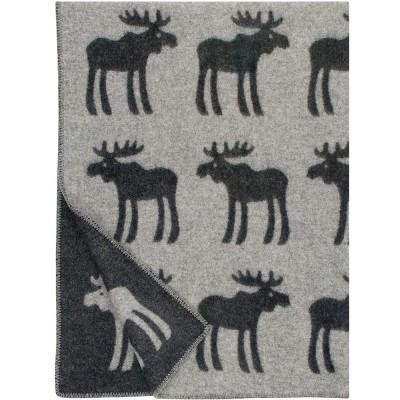 Lapuan Kankurit Hirvi Charcoal Blanket