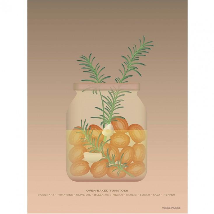 VisseVasse Oven-Baked Tomatoes Poster