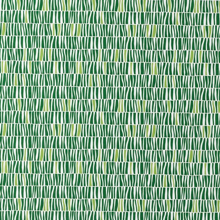 Spira Zilla Green Scandinavian Fabric