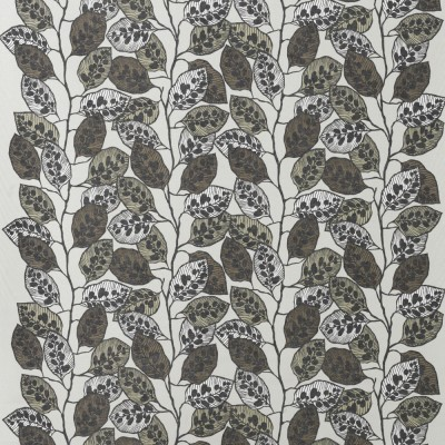 Spira Blad Natural Swedish Fabric