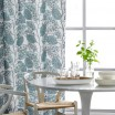 Spira Blad Blue Swedish Fabric