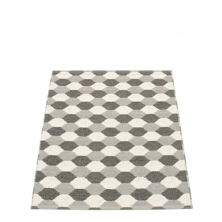 Pappelina Dana Warm Grey & Charcoal Runner - 70 x 100 cm