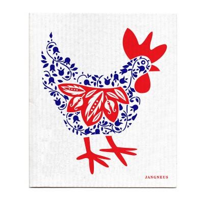 Jangneus Blue Hen Dishcloth