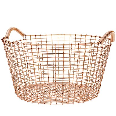 Korbo Classic 35 Basket - Solid Copper