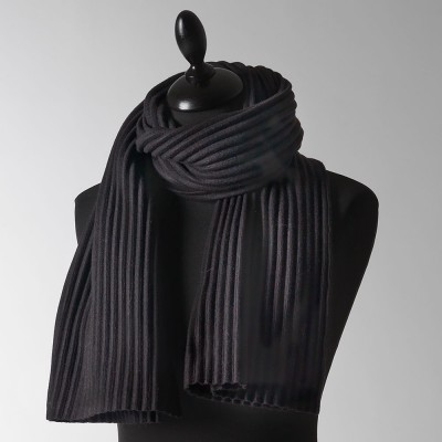 Design House Stockholm Black Short Pleece Scarf