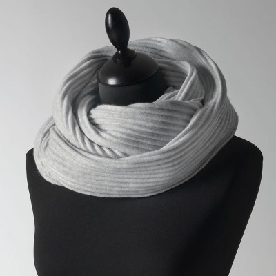 Design House Stockholm Silver Grey Pleece Snood