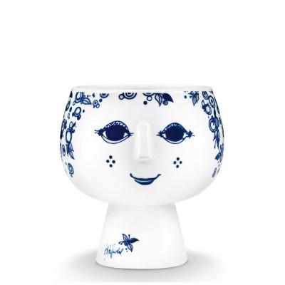 Bjorn Wiinblad Juliane Flowerpot - Blue