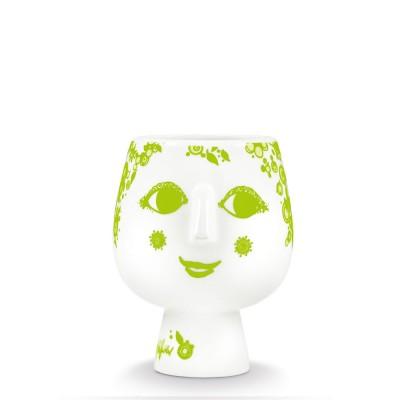 Bjorn Wiinblad Juliane Flowerpot -Green