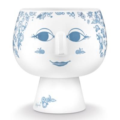 Bjorn Wiinblad Juliane Flowerpot - Dusty Blue