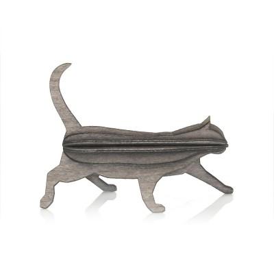 Lovi Birch Ply Cat - Grey