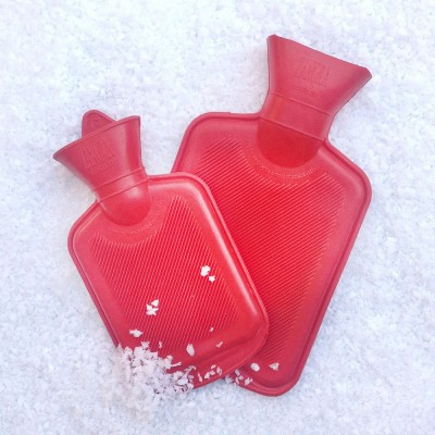 Mini Hot Water Bottles - Red