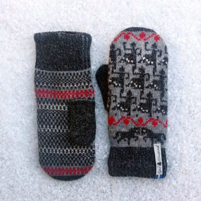 Öjbro Merino Wool Mittens - Elin
