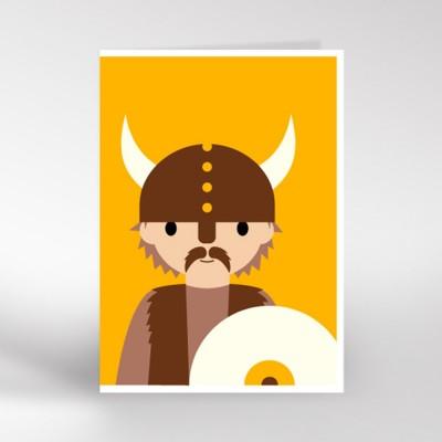 Viking Greeting Card