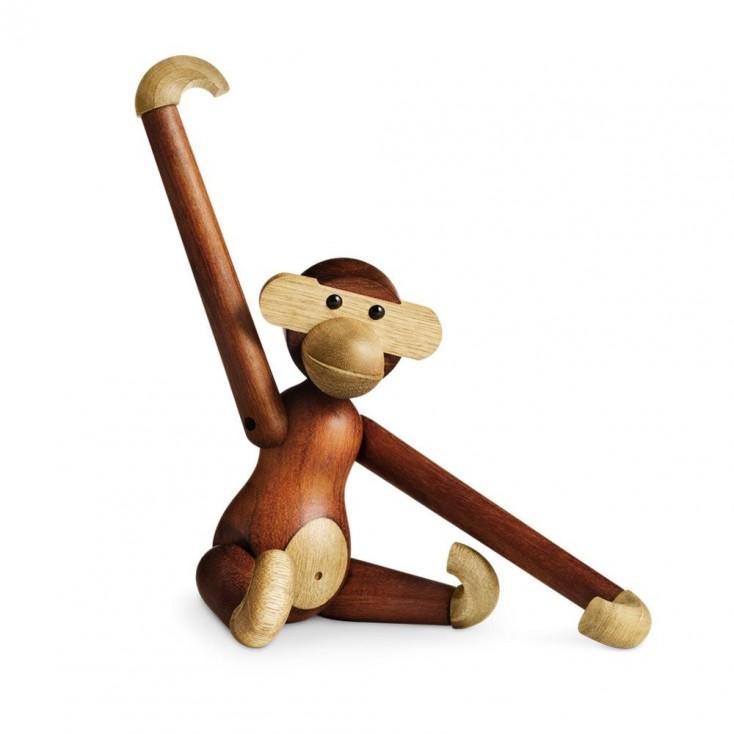 Rosendahl Teak Monkey By Kay Bojesen