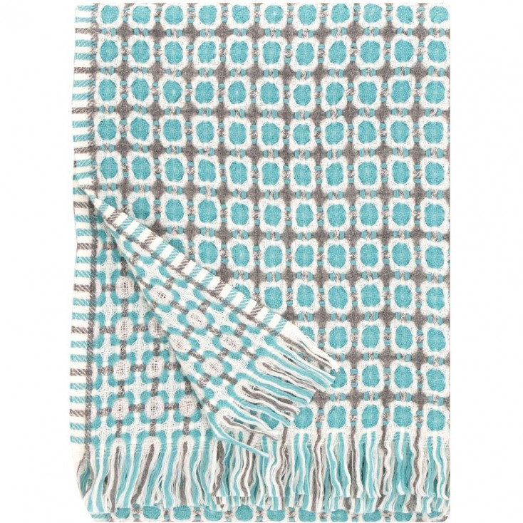 Lapuan Kankurit Turquoise Corona Blanket
