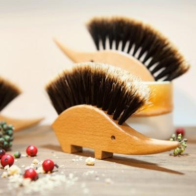 Ombre Horsehair Hedgehog Brush