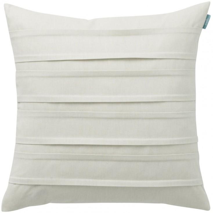 Spira Double Pleat Ivory Cushion