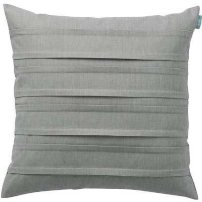 Spira Double Pleat Pewter Cushion