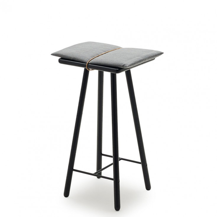 Skagerak Low Georg Bar Stool - Black