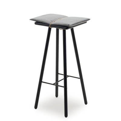 Skagerak High Georg Bar Stool - Black