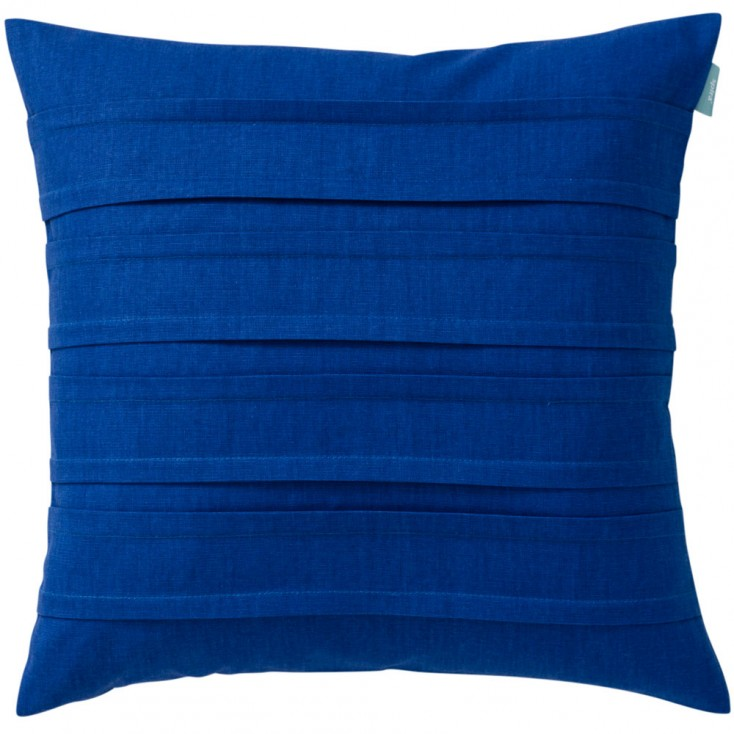Spira Double Pleat Cobalt Cushion