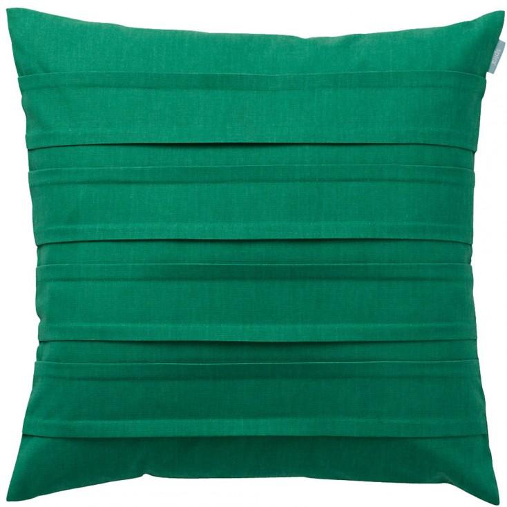 Spira Double Pleat Emerald Green Cushion