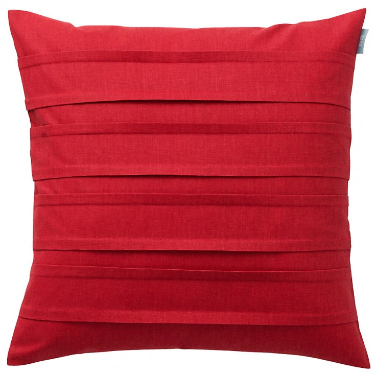 Spira Double Pleat Raspberry Cushion