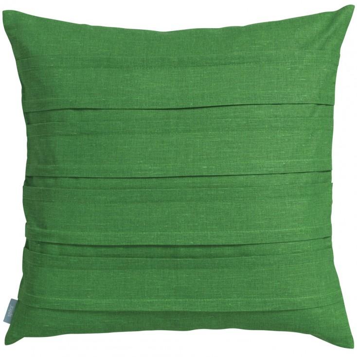 Spira Double Pleat Green Cushion
