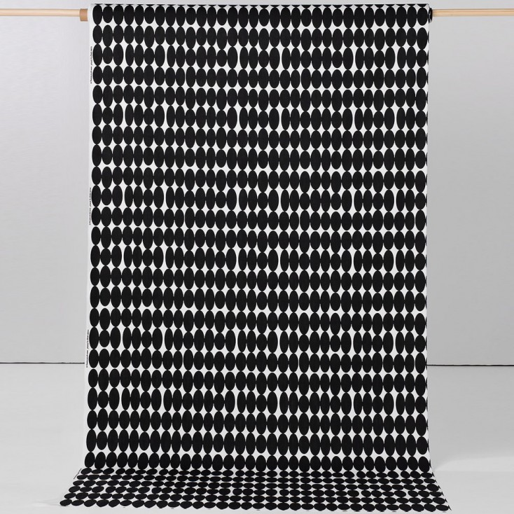 Spira Vilma Black Scandinavian Fabric