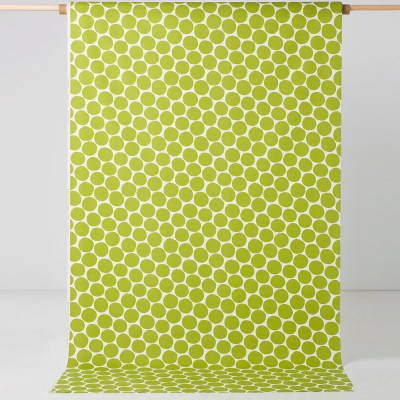 Spira Pom Pom Green Swedish Fabric
